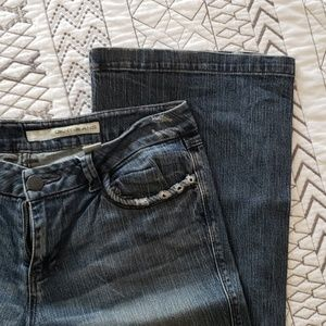 Dkny jeans slightly distressed